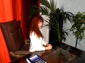 maria cristina guberti nello studio di psicologia